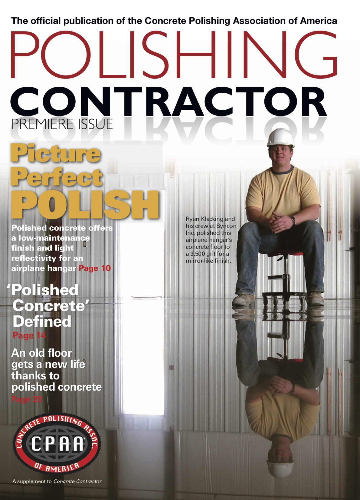 Syncon Featured in Polishing Contractor Magazine Premier Addition